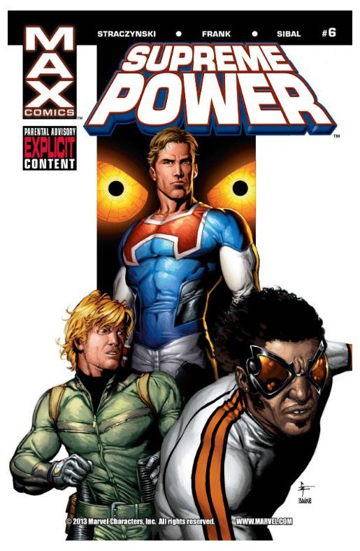 Комикс Supreme Power #6