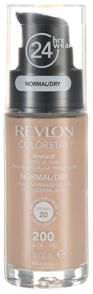 Тональный крем Revlon Colorstay Makeup For Normal-dry Skin 200 Nude 30 мл