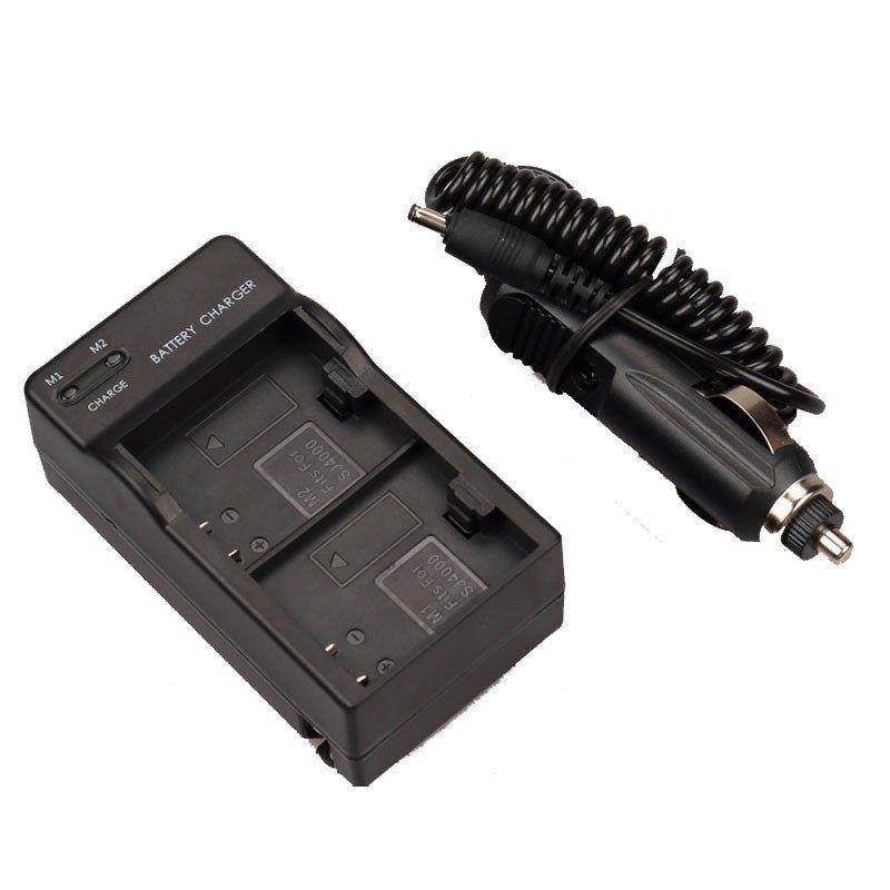 Зарядное устройство автомобильное для двух аккумуляторов SJ4000 SJCAM