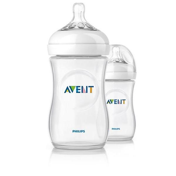 Бутылочка для кормления Philips Avent 260мл 2шт серия NATURAL 2.0 пластик