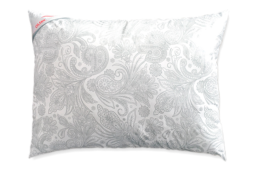 Подушка Версаль Цвет: Белый Средняя (50х68)