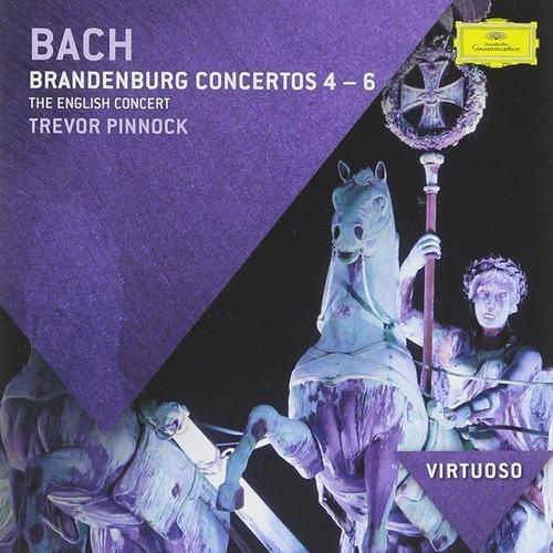 Аудио диск Pinnock, Trevor Bach: Brandenburg Concertos Nos.4-6