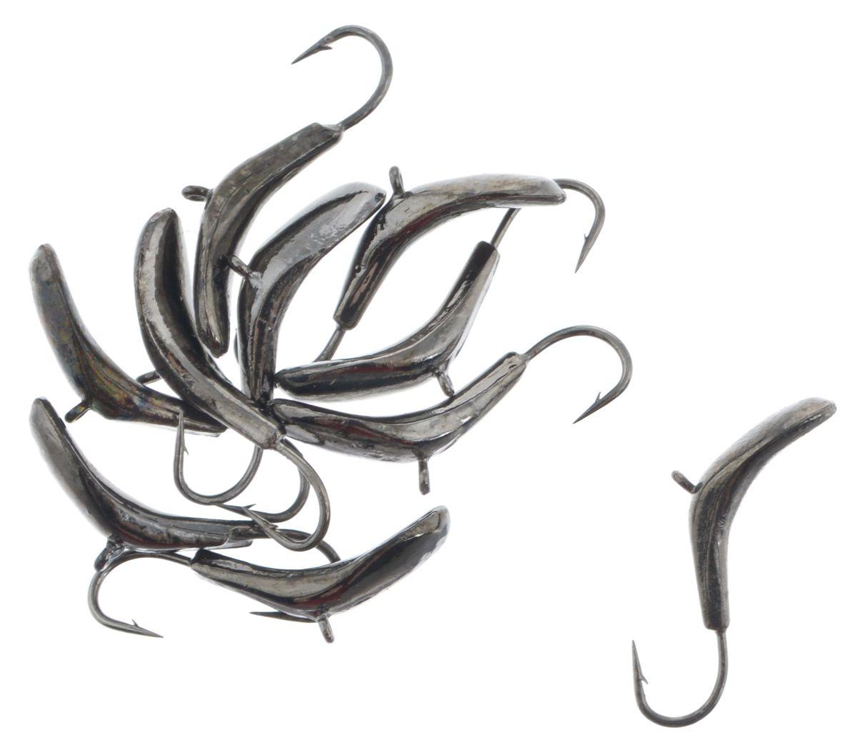 Мормышка вольфрамовая Комар,5 мм, черный никель фото