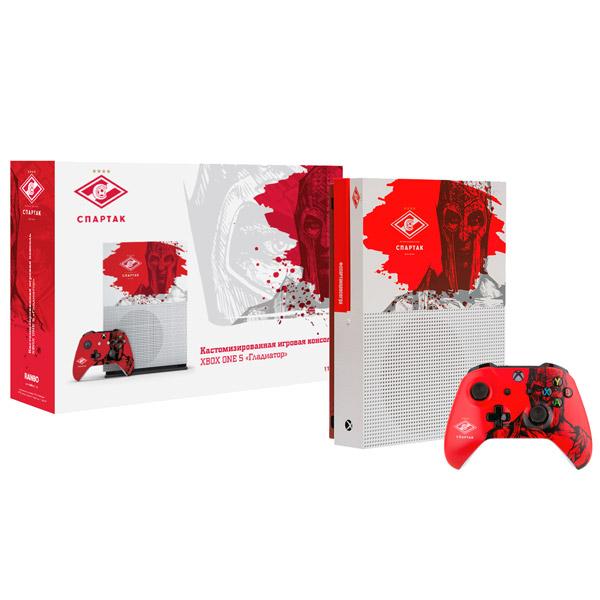 Игровая приставка Microsoft Xbox One S Rainbo 1TB \