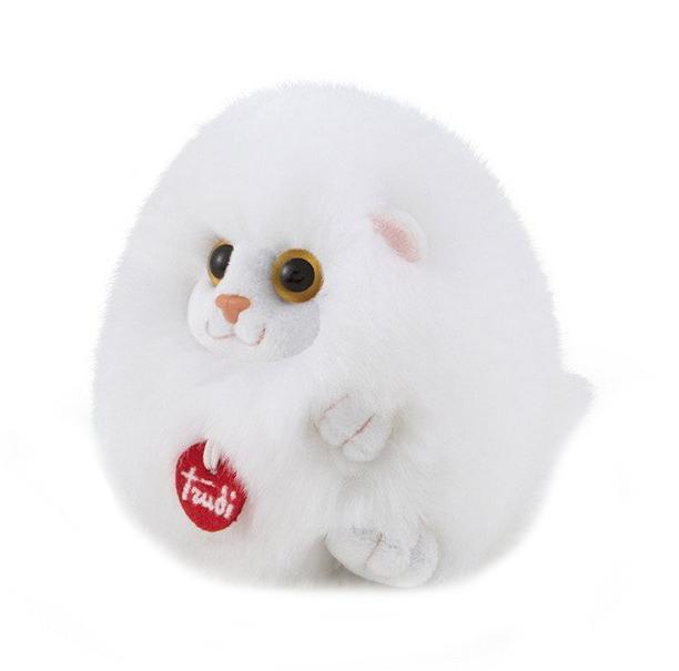 Купить Мягкая игрушка Котенок-пушистик на веревочке, 10 см Trudi, Мягкие игрушки животные