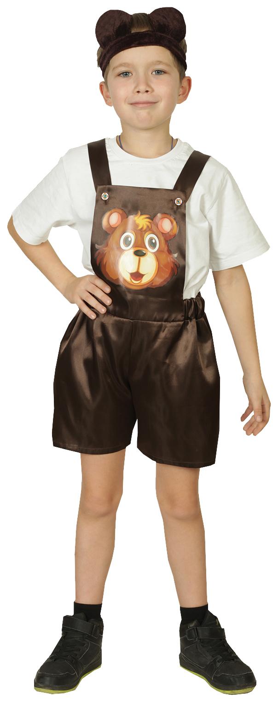 Карнавальный костюм Страна Карнавалия Медвежонок р. 28, рост 98-104 см