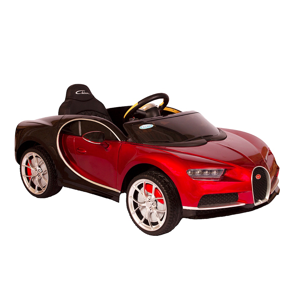 Детский электромобиль Barty Bugatti Chiron HL318 (Лицензия), Красный