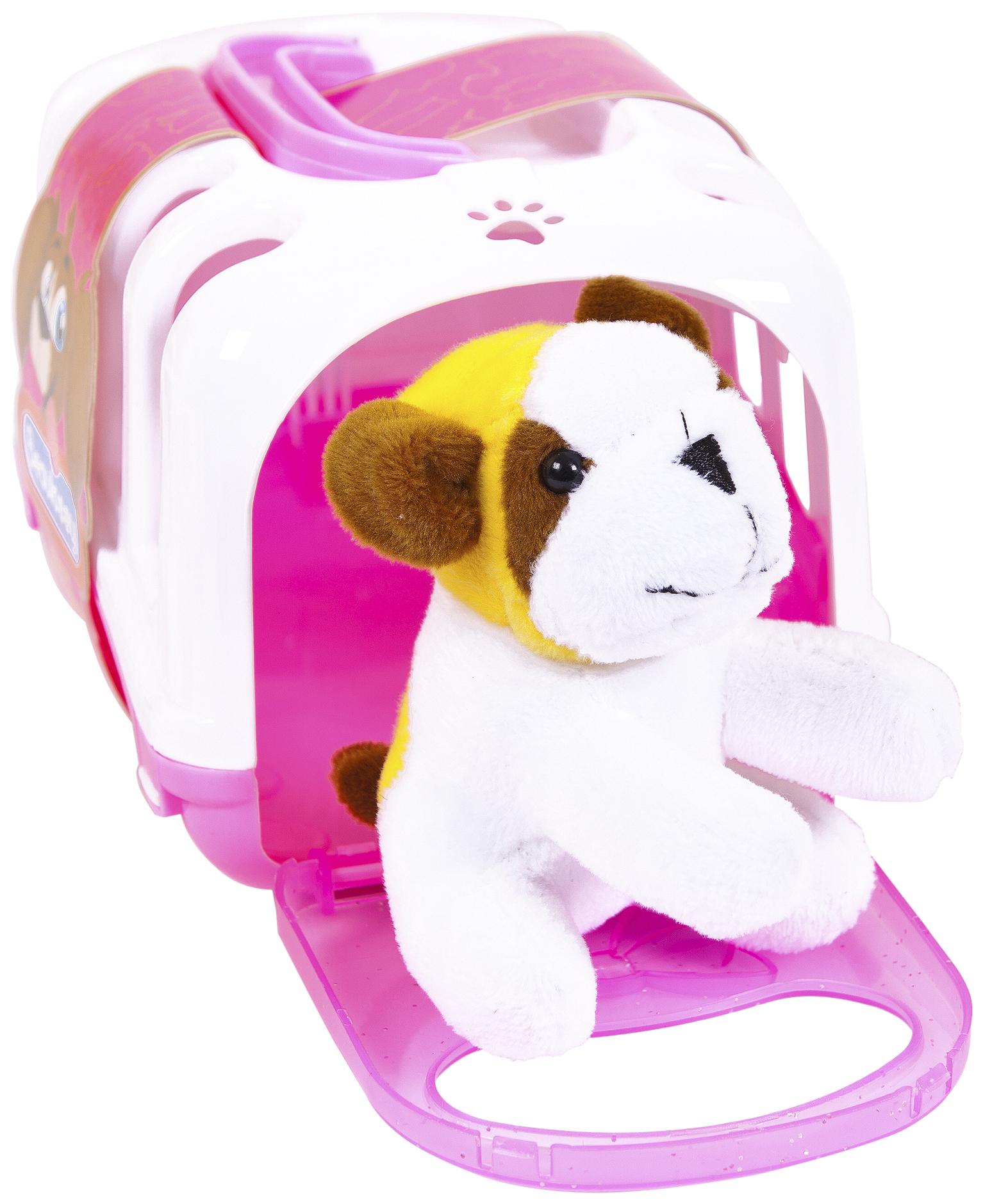 Игровой набор Junfa toys Питомец Домашний С Переноской