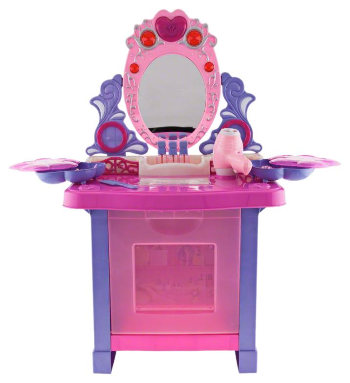 Купить Детское трюмо Dresses с аксессуарами свет, звук, Shantou Gepai, Игрушечные туалетные столики