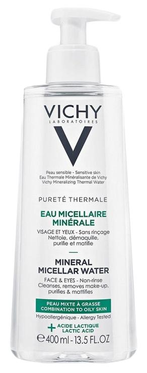 Мицеллярная вода Vichy Purete Thermale Жирная и комбинированная кожа