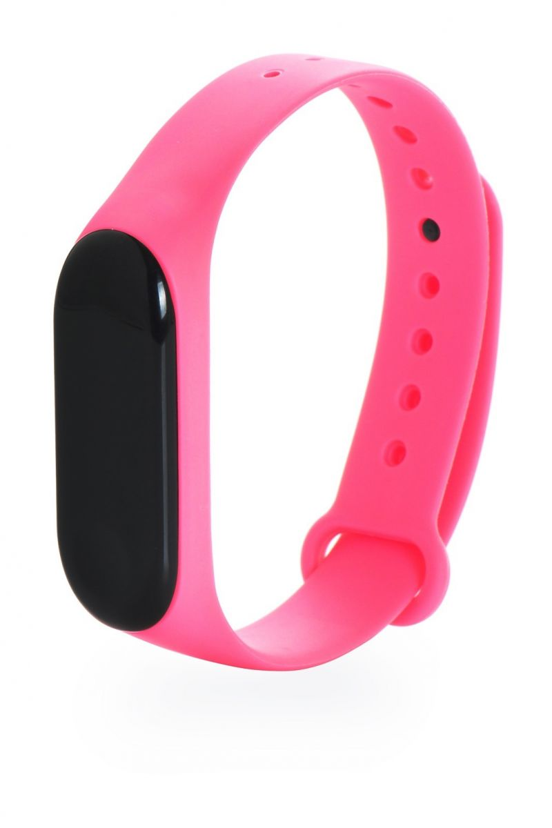 Ремешок Gurdini для фитнес браслета Xiaomi Mi Band 3 Pink