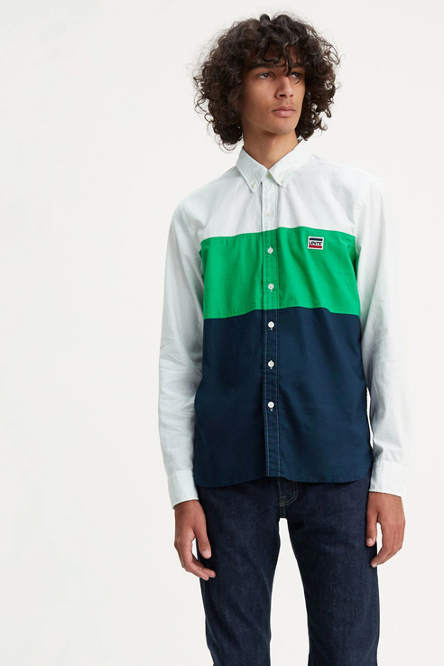 Рубашка мужская Levi's 7262900010 разноцветная S