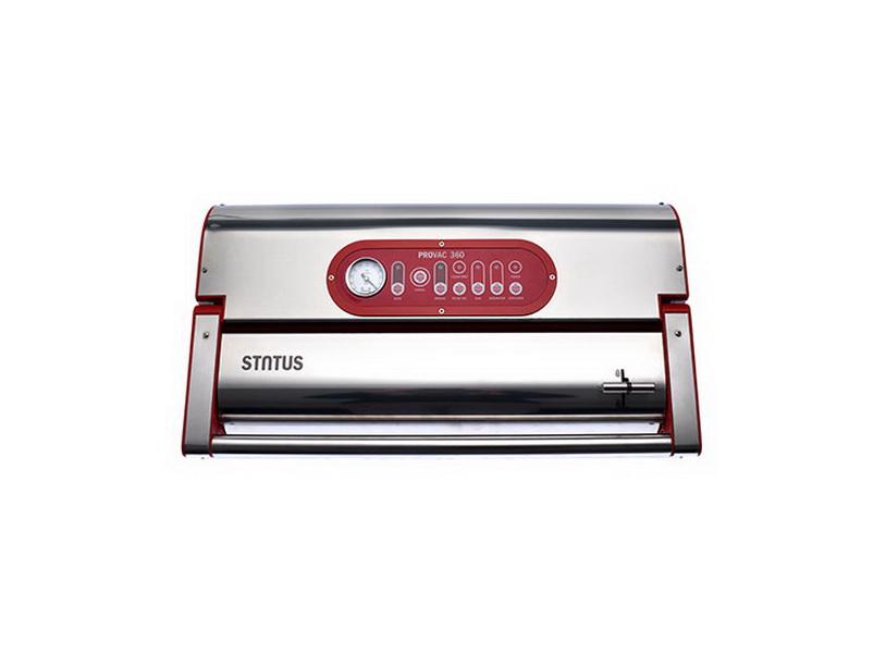 Вакуумный упаковщик Status ProVAC 360 Silver Red