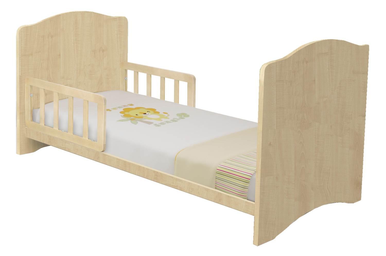 Комплект боковых ограждений для кровати Polini Simple/Basic 140*70 натуральный