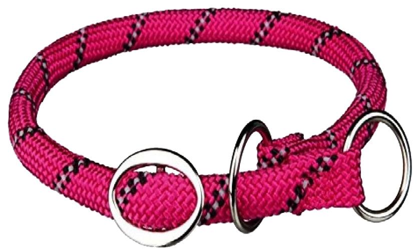 Ошейник для собак TRIXIE Sporty Rope L-XL 55 см диаметр 13 мм фуксия 14619