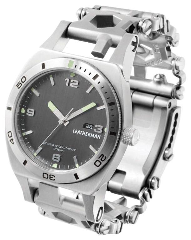 Браслет-мультитул Leatherman Tread Tempo 832421 217 мм серебристый, 30 функций