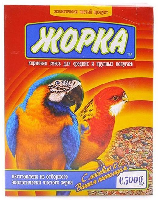 Корм для для крупных и средних попугаев