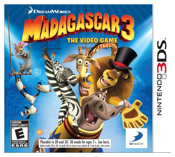 Игра Madagascar 3: The Video game