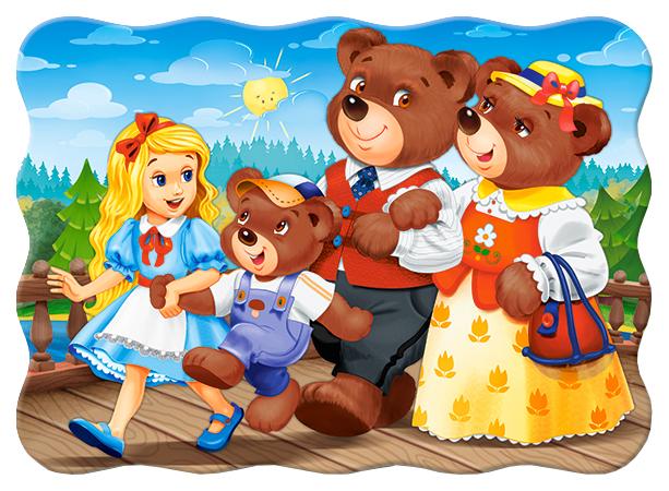 Пазл Castorland 30 эл. Три медведя, арт. В-03716