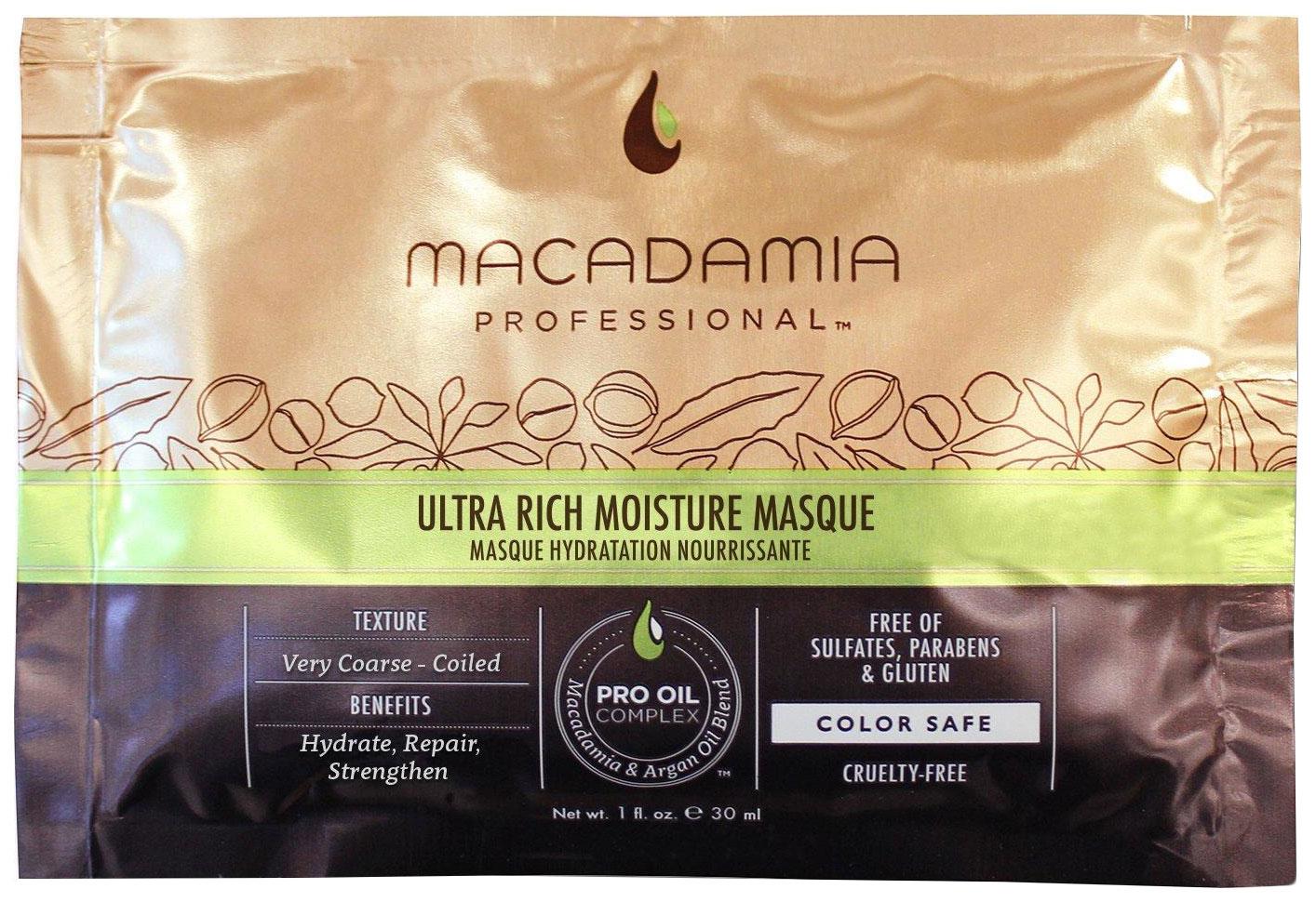 Купить Маска для волос Macadamia Nourishing Moisture Masque 30 мл