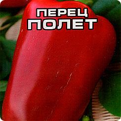 Семена Перец сладкий Полет, 15 шт, Сибирский