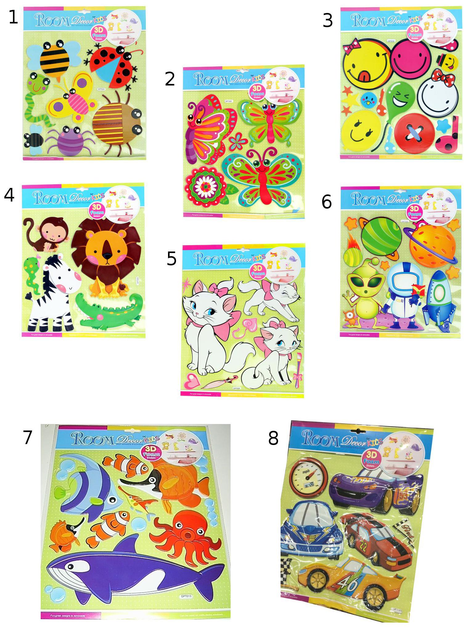 Наклейка декоративная для детской комнаты Room Decor