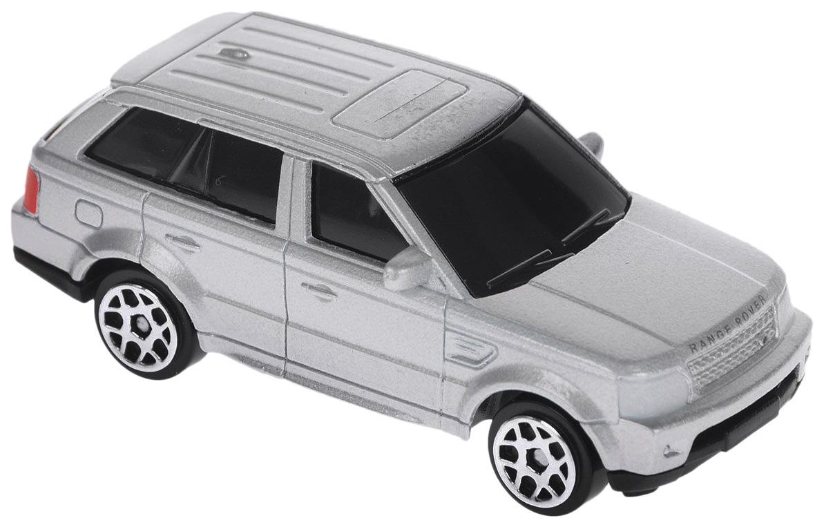 Коллекционная модель RMZ City Junior Range Rover Sport серебристая 1:64 34409S