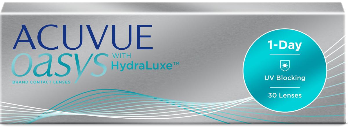 Контактные линзы Acuvue Oasys 1-Day with HydraLuxe 30 линз R 8,5 +7,00 фото