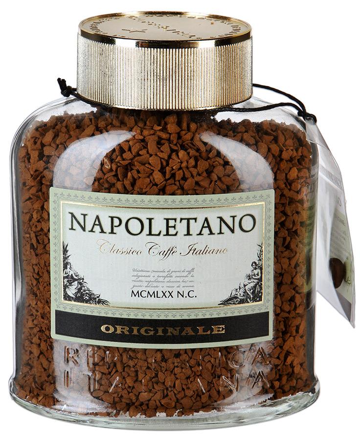 Кофе наполетано ориджинл растворимый сублимированный 100 г фото