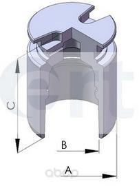 Поршень тормозного суппорта Ert для Peugeot 307 all 00- d38 150274-C