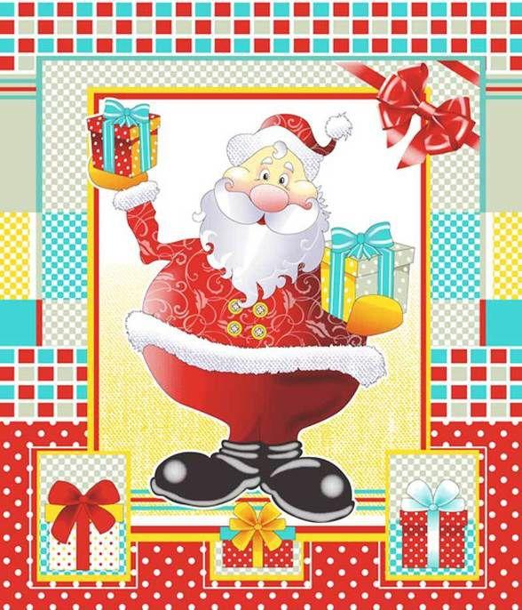 Набор новогодний полотенец вафельных 420 фото