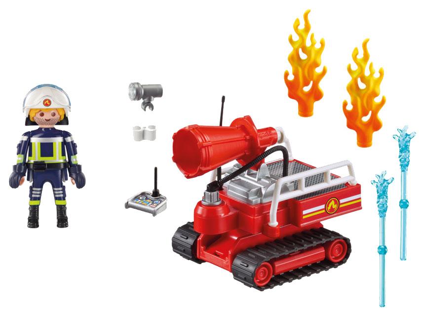 Купить Игровой набор Playmobil Пожарная служба: Огненная Водяная Пушка, Игровые наборы