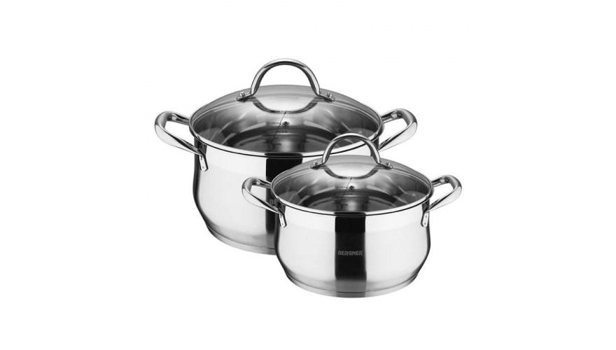 Набор посуды Bergner BG-9513L-MM 4 предмета