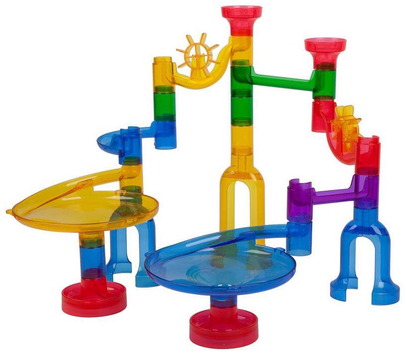 Конструктор пластиковый Bondibon Разноцветный лабиринт 46 деталей