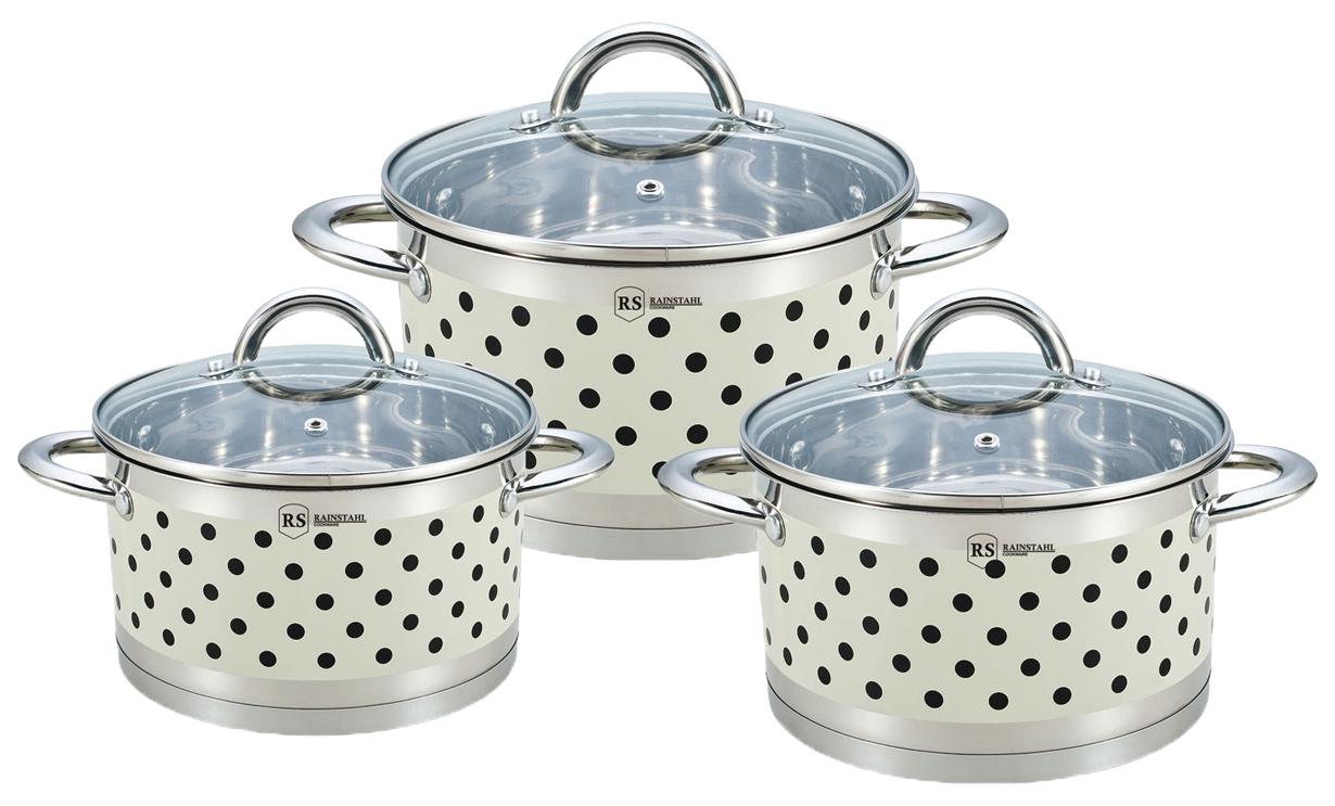 Набор посуды Rainstahl 4690317037910 Серебристый