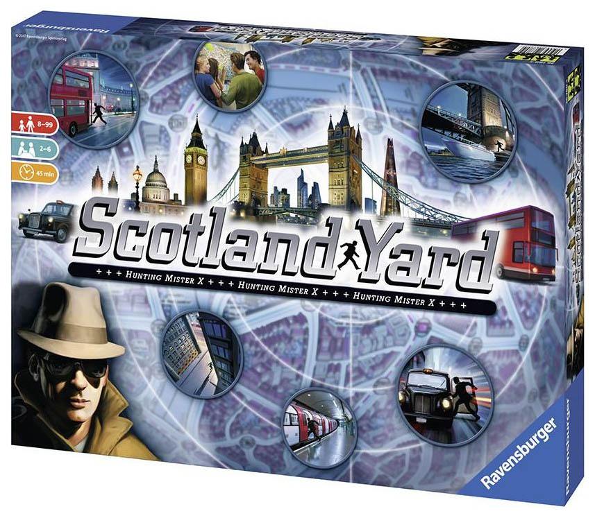Купить Настольная игра Ravensburger Скотланд-Ярд 26007,