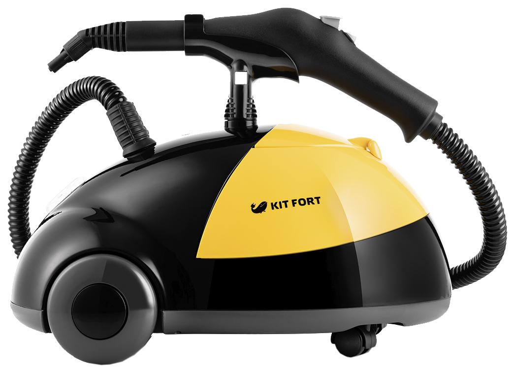 Пароочиститель Kitfort КТ 931 Yellow/Black