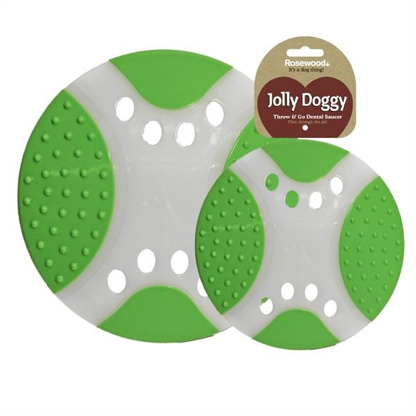 Апорт для собак Rosewood Летающая тарелка, зеленая,