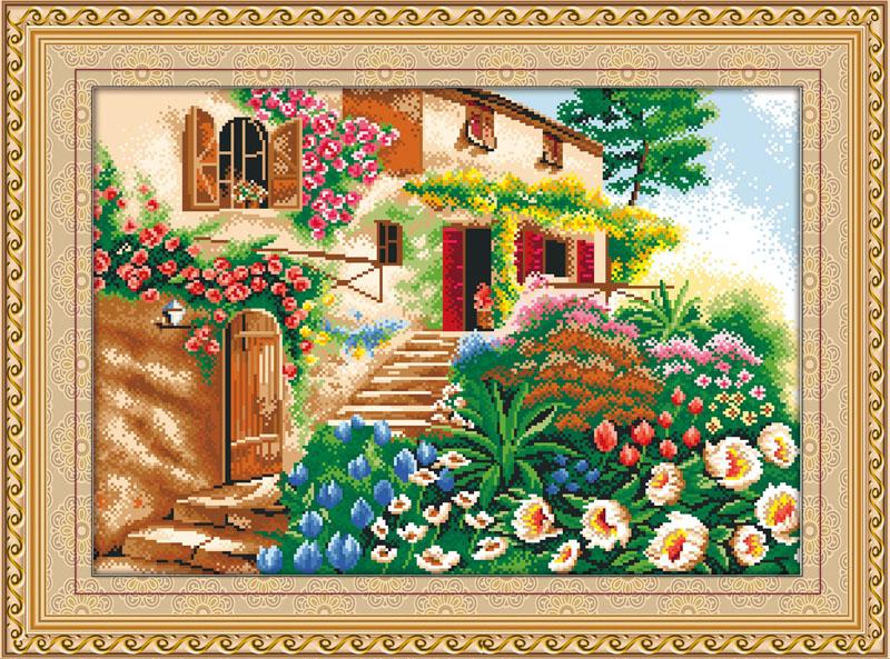 Мозаичная картина Лето MO015