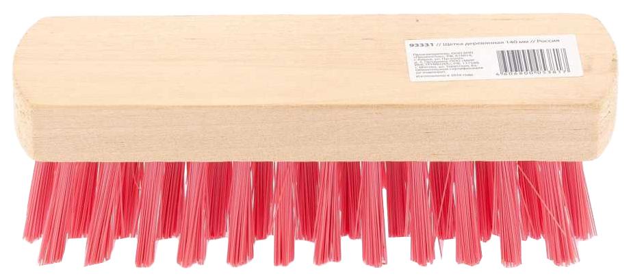 Щетка для обуви деревянная 140 мм