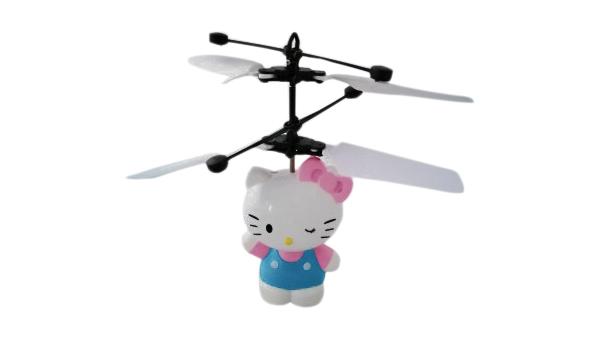 Радиоуправляемый вертолет Robocar Poli Hello Kitty 8633