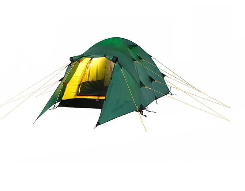 Туристическая палатка Alexika Nakra 3 трехместная зеленая