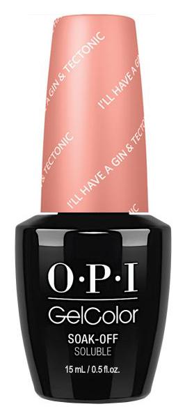 Купить Лак для ногтей OPI Iceland GelColor I'll Have a Gin & Tectonic 15 мл