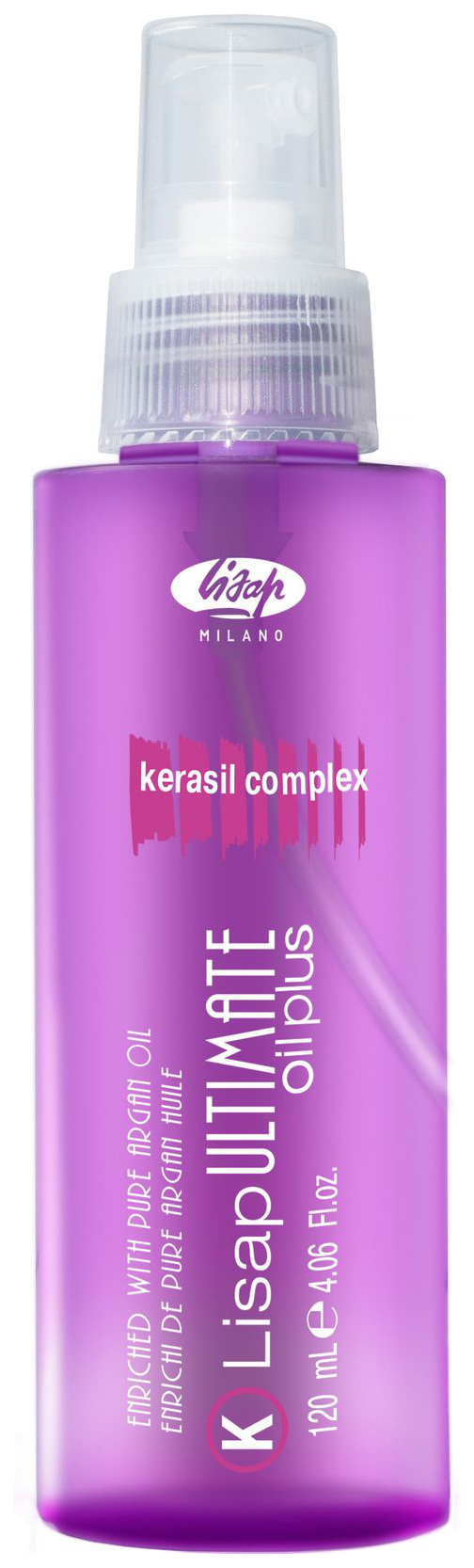 Масло Lisap Milano Ultimate Keratin Oil Plus