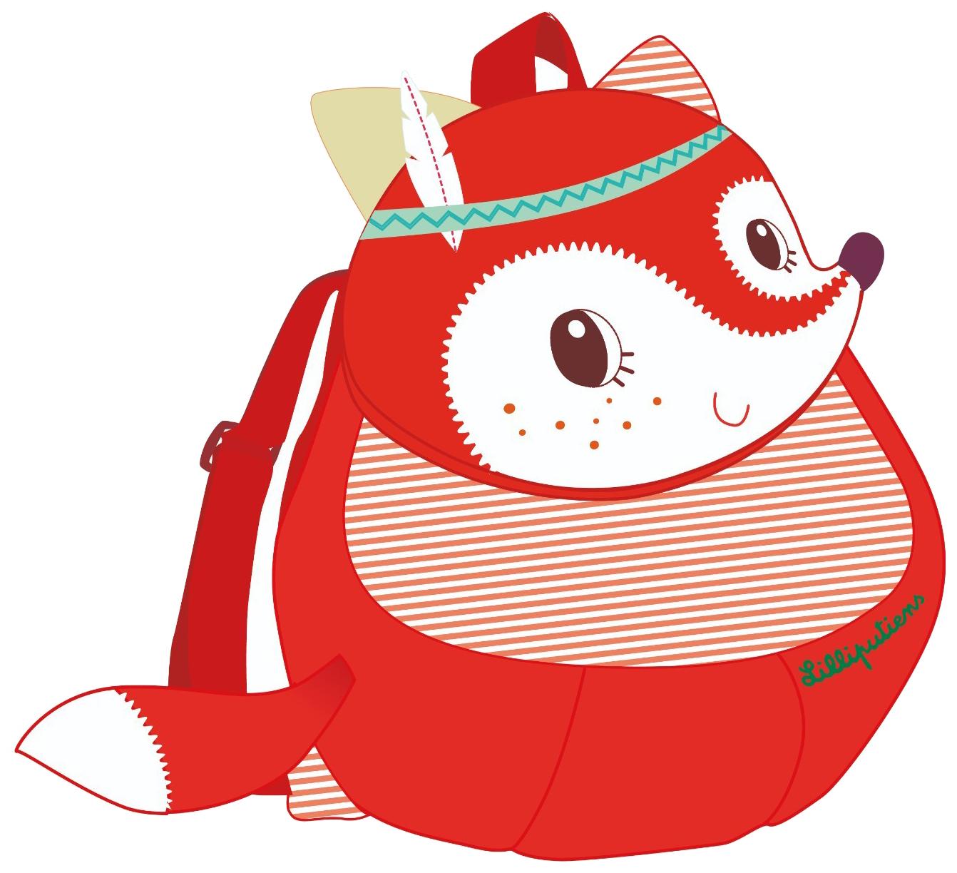 Детский рюкзак Lilliputiens Лиса Алиса 84405