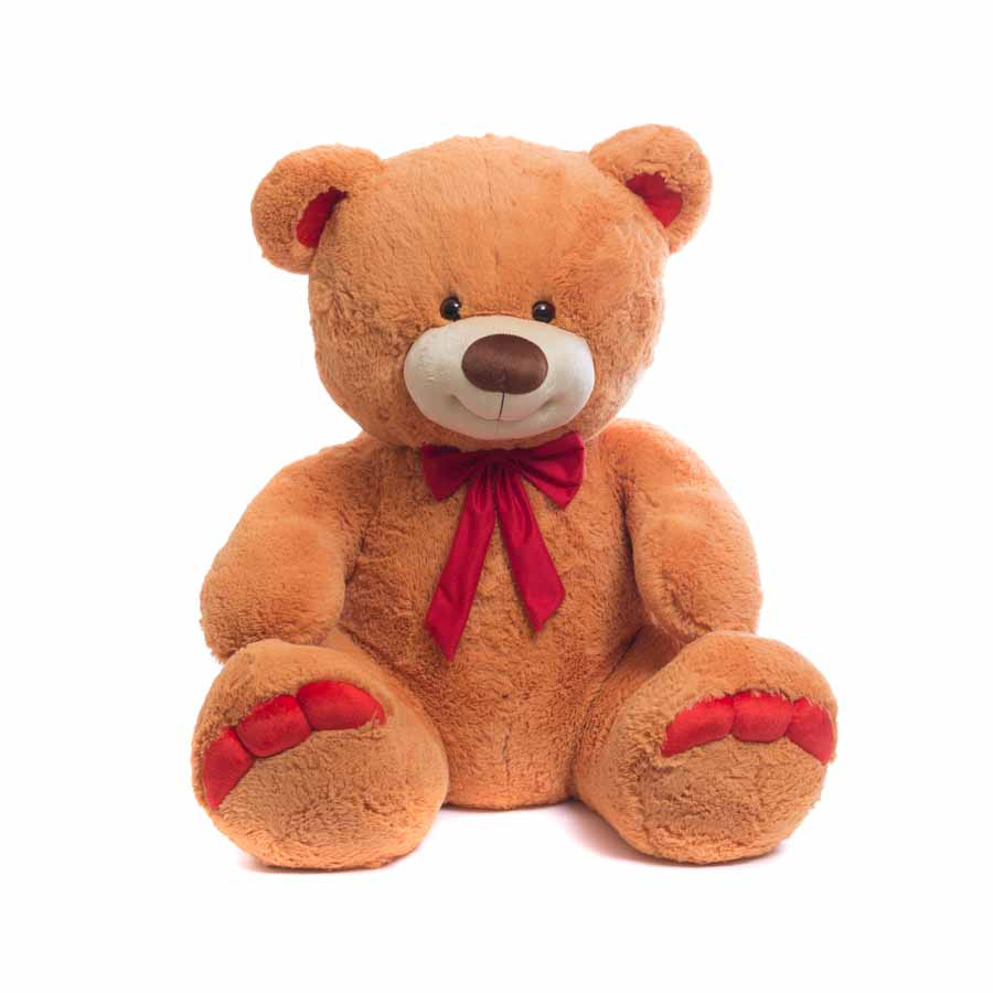 Мягкая игрушка Мишка большой с пальчиками (красными) 85 см Нижегородская игрушка См-402-5, Мягкие игрушки животные  - купить со скидкой