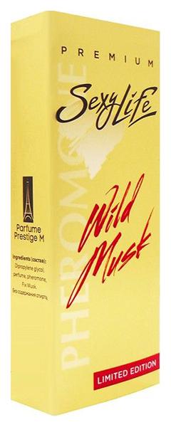 Мужские духи с феромонами Парфюм престиж Wild Musk №1 с мускусом 10 мл фото