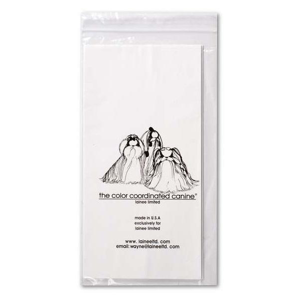 Бумага пластиковая стандарт для папильоток для собак Lainee,