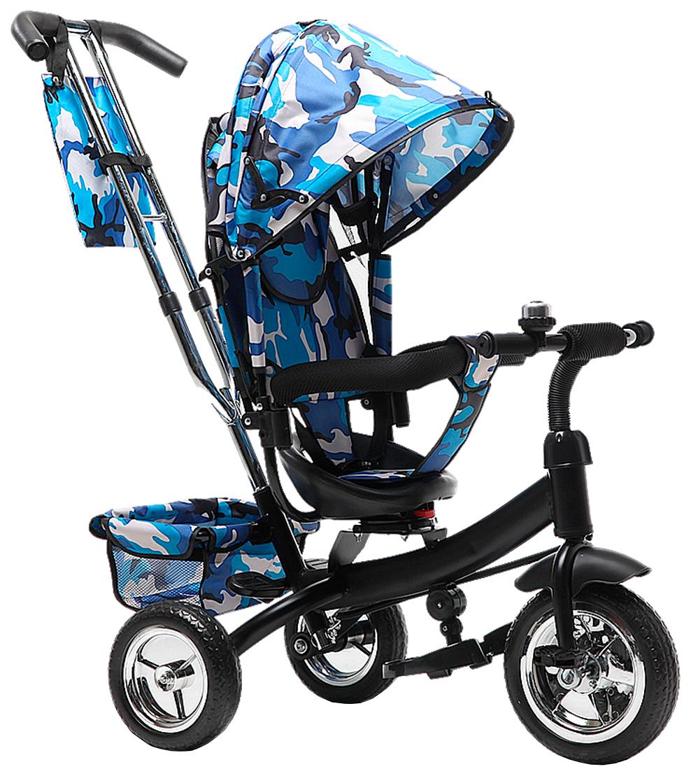Купить Велосипед трехколесный Farfello TSTX6588 синий, Детские велосипеды-коляски