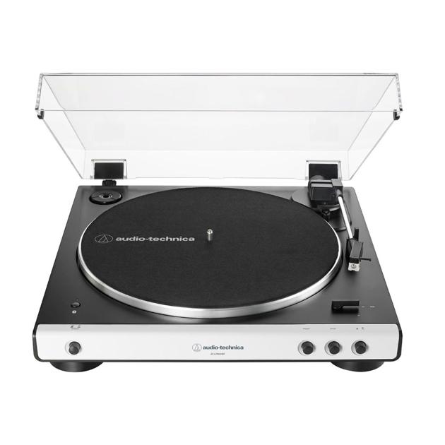 Проигрыватель виниловых пластинок Audio-Technica AT-LP60XBTWH White  - купить со скидкой